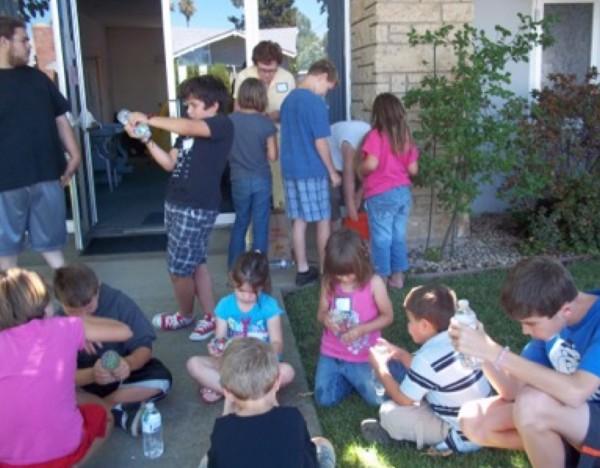 Vacation Bible School kids